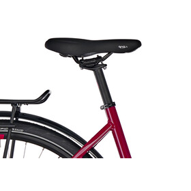 Cube Touring EXC - Vélo de trekking - Easy Entry rouge